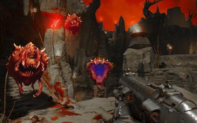 Penggemar Doom sudah mengoreksi warna atau kecepatan game