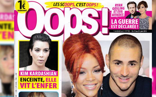 今週のフランスのタブロイド紙:リアーナはベンゼマの「クラケ」です!
