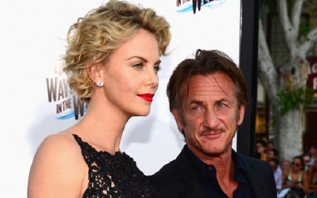 Charlize Theron a rompu avec Sean Penn en le fantôme