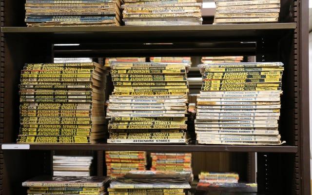 La Universidad de Iowa recibe una biblioteca de ciencia ficción de 18.000 volúmenes