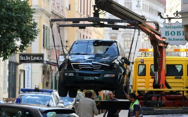 पुलिस: ऑस्ट्रियाई एफ 1 अटैक संदिग्ध का इतिहास हिंसा का है, मानसिक बीमारी