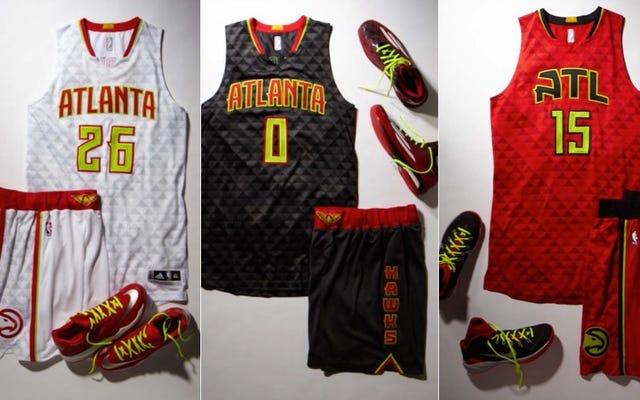 Hawks tiết lộ đồng phục Neon mới