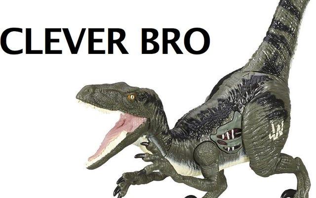 Cristo, ni siquiera los juguetes de dinosaurios del mundo jurásico pueden ser femeninos