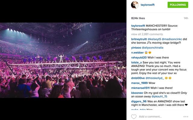 Taylor Swift crédite maintenant les photographes