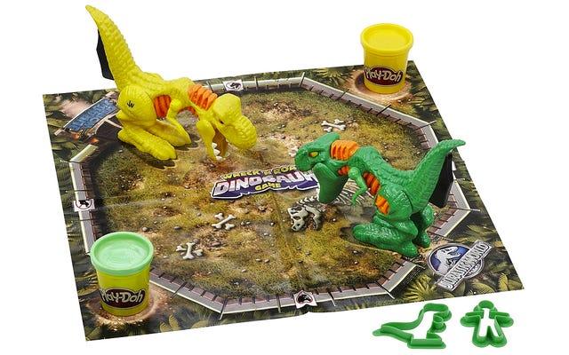 Les dinosaures qui grignotent les gens de Play-Doh sonne comme un jeu vraiment génial