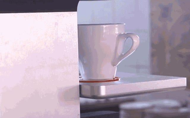 Máy in nghệ thuật cà phê này khiến các Baristas phải xấu hổ