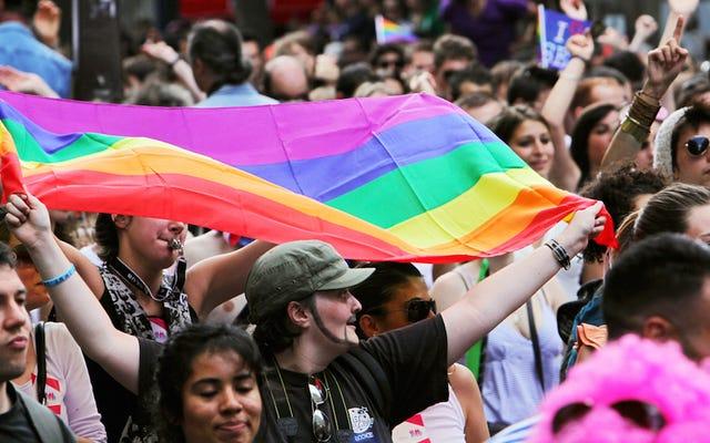 इंटरनेट पूरी तरह से स्कॉटस समलैंगिक विवाह शासन पर अपनी गंदगी खो रहा है