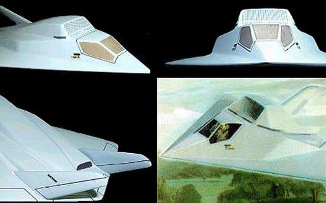 Conozca el XST de Northrop, el avión que perdió frente al avión Stealth original