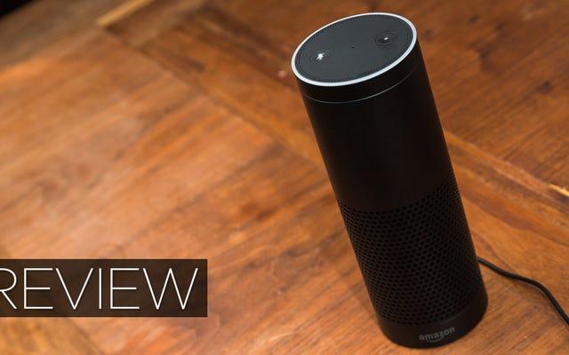 Recenzja Amazon Echo: Właśnie przemówiłem do przyszłości i posłuchałem
