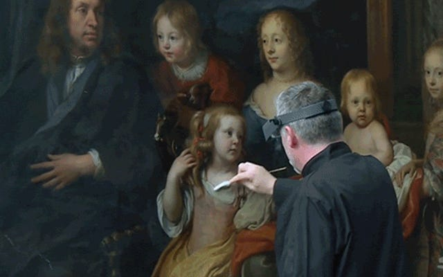 美術館が何百年も前の美しい絵画を復元する方法
