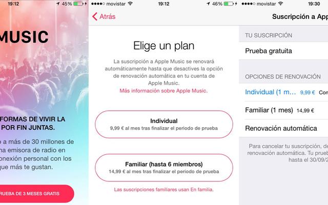 AppleMusicを試した後にAppleが自動的に請求しないようにする方法