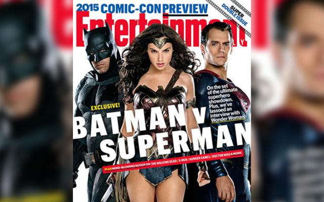 बैटमैन, सुपरमैन, और कुछ महिलाएं इस सप्ताह के ईडब्ल्यू के कवर पर हैं
