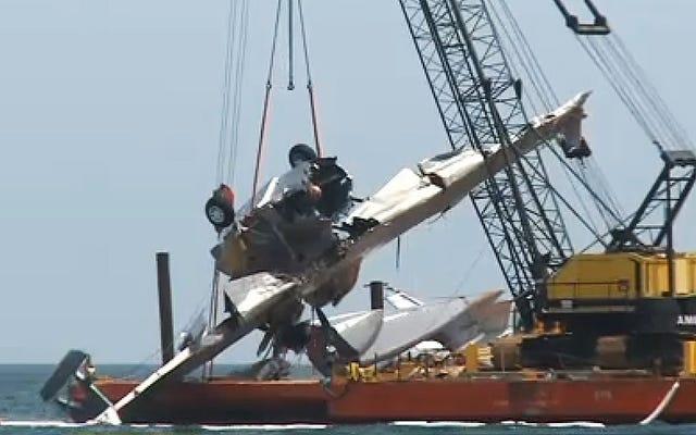 Un hidroavión Catalina fue destruido durante la producción de la película Nic Cage
