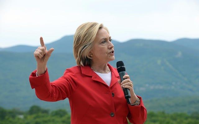 ニューハンプシャー州のヒラリークリントンキャンペーン、Corrals Press With Rope