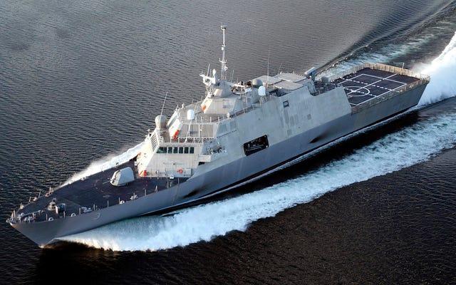 La marine appellera des frégates de navires de combat du Littoral assiégés à cause du marketing