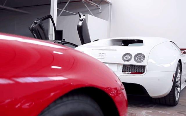 これは6500万台の高級車のコレクションがどのように見えるかです。ドルの