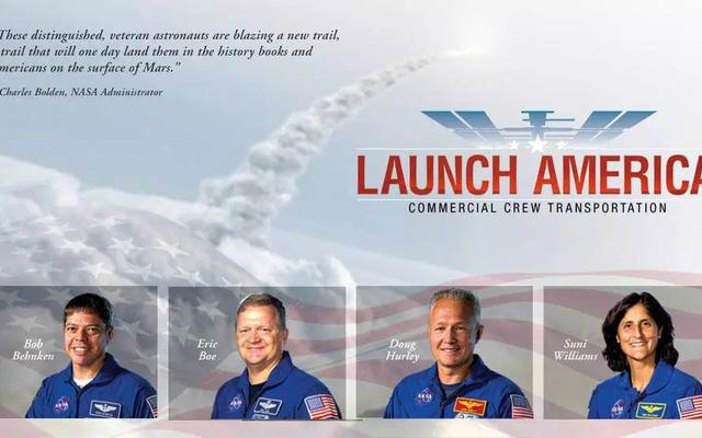 ये अंतरिक्ष यात्री स्पेसएक्स और बोइंग के साथ लॉन्च करने वाले पहले व्यक्ति होंगे