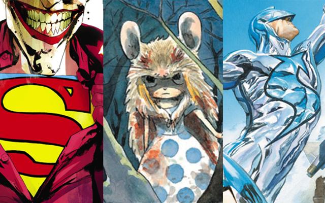 คำแนะนำของคุณเกี่ยวกับการ์ตูนที่ต้องอ่านของรางวัล Eisner ประจำปี 2015