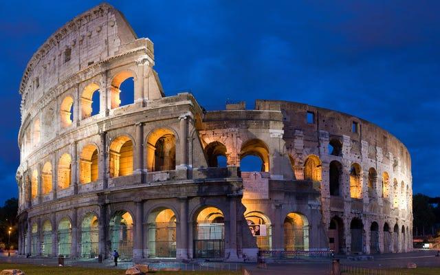 प्राचीन रोमन कंक्रीट ज्वालामुखी रसायन विज्ञान से प्रेरित था