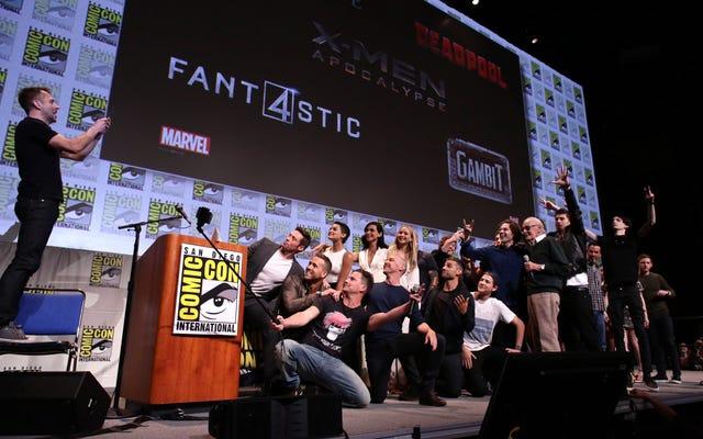 Люди Икс, Дэдпул, Фантастическая четверка и Гамбит сделали одну эпическую фотографию