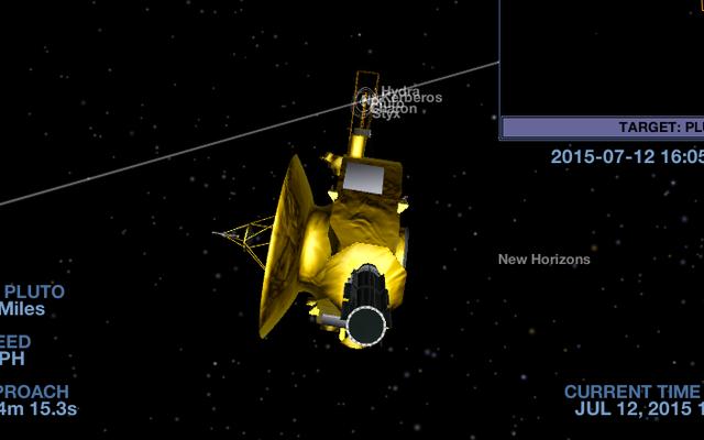 このNASAアプリで新しい地平線と一緒に飛ぶ