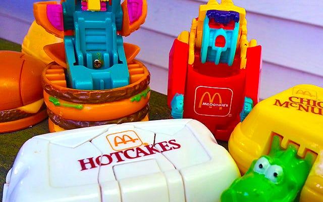 McDonald's'ın Şimdiye Kadarki En İyi Mutlu Yemek Oyuncaklarına Bir Bakış: Değiştirilebilirler
