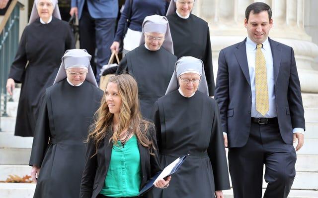 Las monjas católicas romanas siguen luchando contra el compromiso de Obamacare con el control de la natalidad