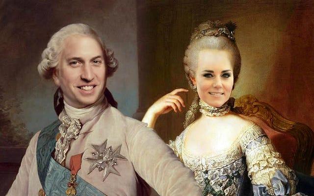 衝撃的な証拠:ウィルとケイトはフランスの王位を奪うために共謀していますか?