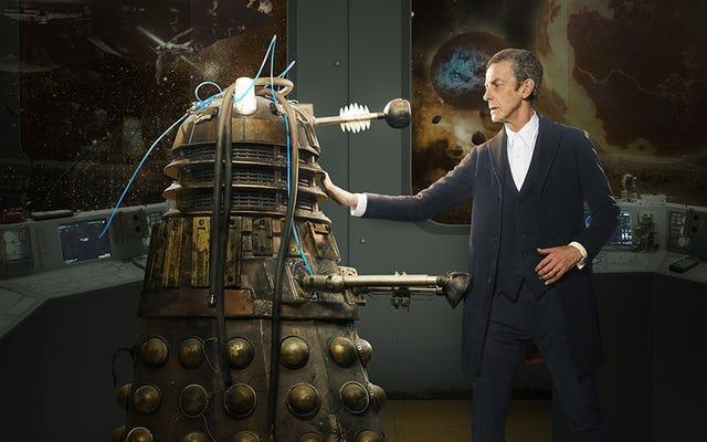 Peter Capaldi dit que le médecin sait qu'il a aggravé les Daleks
