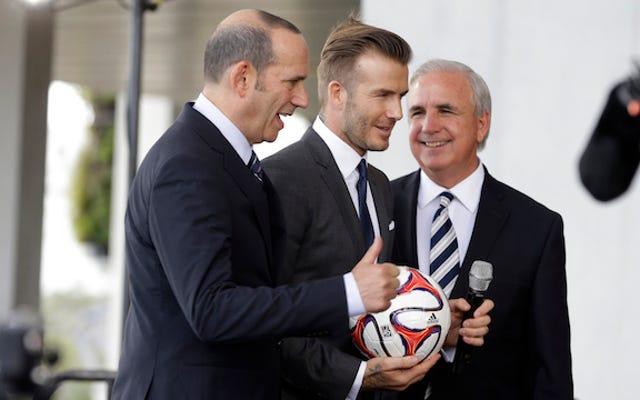 David Beckham construira son stade de football à côté de Marlins Park
