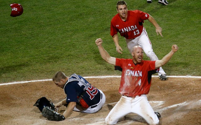 Les États-Unis perdus au baseball
