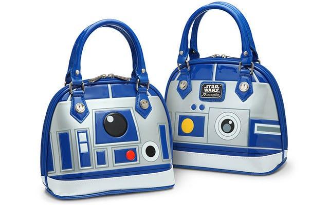 このR2-D2ハンドバッグであなたの鍵、財布、そしてデススターの計画を運ぶ