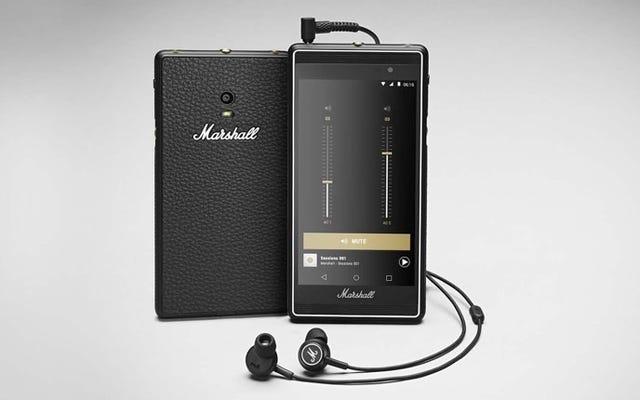 マーシャルのロックンロールAndroid携帯は実際には素晴らしいように見えます
