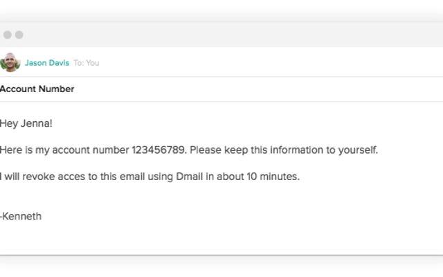 自己破壊型Gmailを送信するためにこのChrome拡張機能をインストールしてください