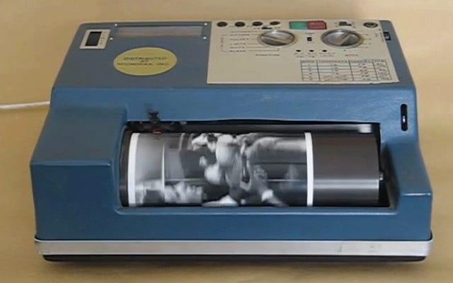 インターネットの前に、この古風な機械は写真が送信された方法です