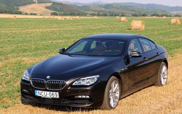 BMW640dグランクーペは世界で最高の無意味な車です