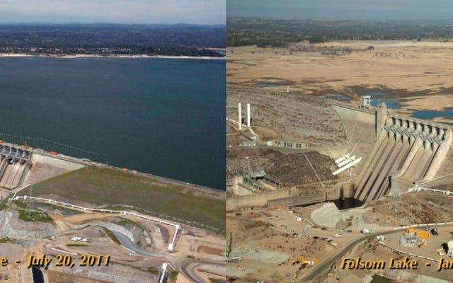 カリフォルニアは一年分の雨に相当するものを失いました