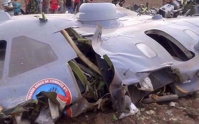 1日に4つの注目を集める飛行機墜落事故がありました