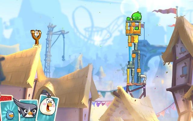 Di Suatu Tempat Di Bawah Omong kosong Angry Birds 2 Adalah Game yang Solid