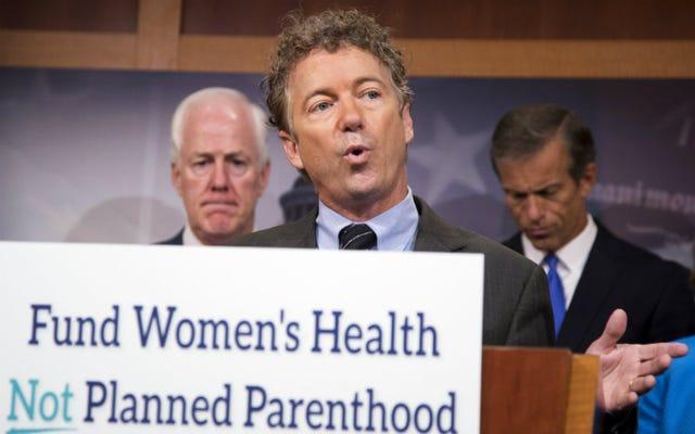 上院共和党は計画された親子関係の資金調達をめぐって政府を閉鎖するかもしれない