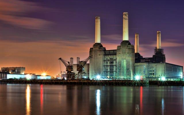 建築家がこのロンドンの発電所をテスラコイルで改造したい