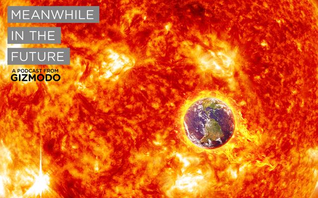 Trong khi đó trong tương lai: Trái đất rơi vào mặt trời
