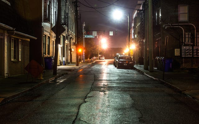 街灯は実際には犯罪を防げない