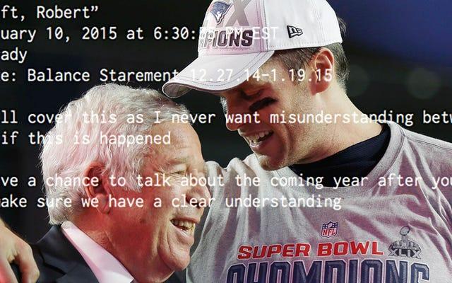 Sorotan Email Pribadi Tom Brady, Terungkap Dalam Gugatan NFLPA