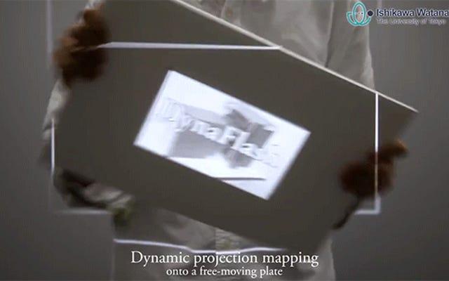 Este proyector de 1000 FPS se adapta perfectamente a los movimientos de cualquier superficie
