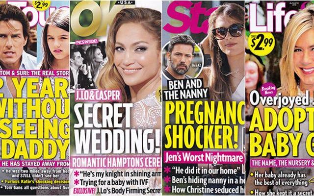 今週のタブロイド紙:ベンはその乳母をノックアップしたかもしれない