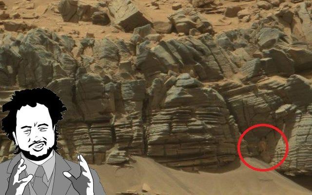 いいえ、このNASAの写真は、火星にカニが存在することを明らかにしていません