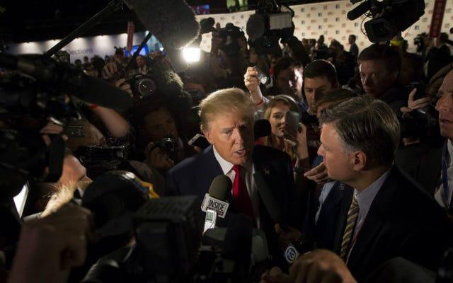 アメリカは嫌いな人を愛しているので、トランピー共和党の議論は記録的な評価を引き出しました