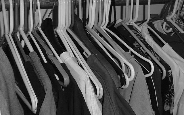 「衣類煉獄」スペースで洗濯物の負荷を少し減らす