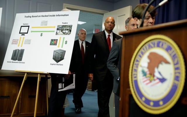 SECは、ハッカーがプレスリリースを盗むだけで何百万ものインサイダー取引を行ったと述べています